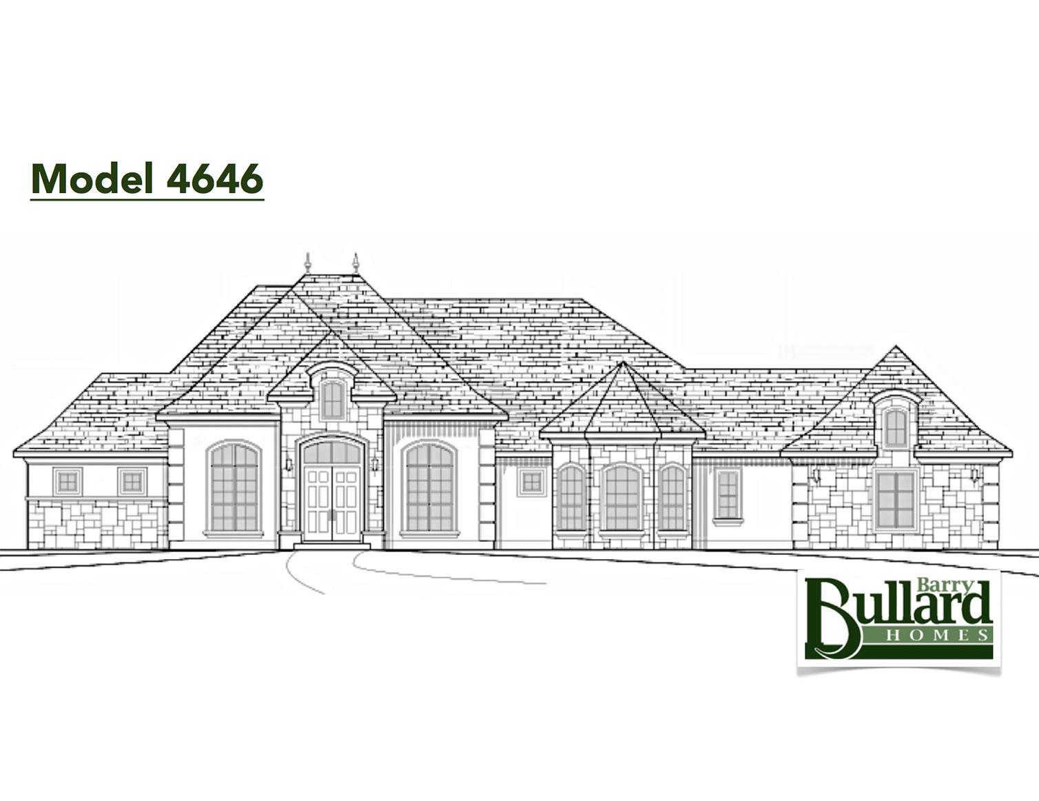 Custom Home Builder Floor Plans: Barry Bullard Homes