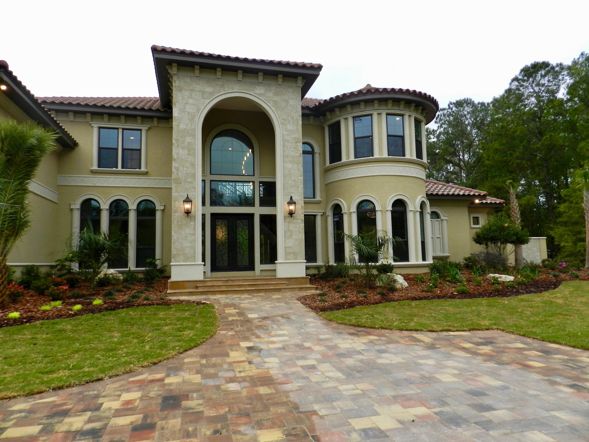 custom homes builder modern mediterranean 4