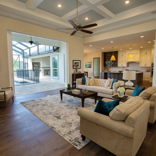 Home Builder Gainesville FL familyroom